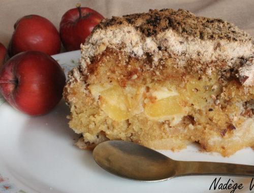 gâteau croustillant pomme