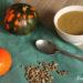 soupe citrouille-pois